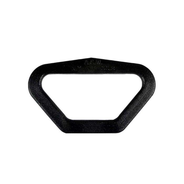 1 1/2 to 3/4 Inch Plastic Reducing Loop Black