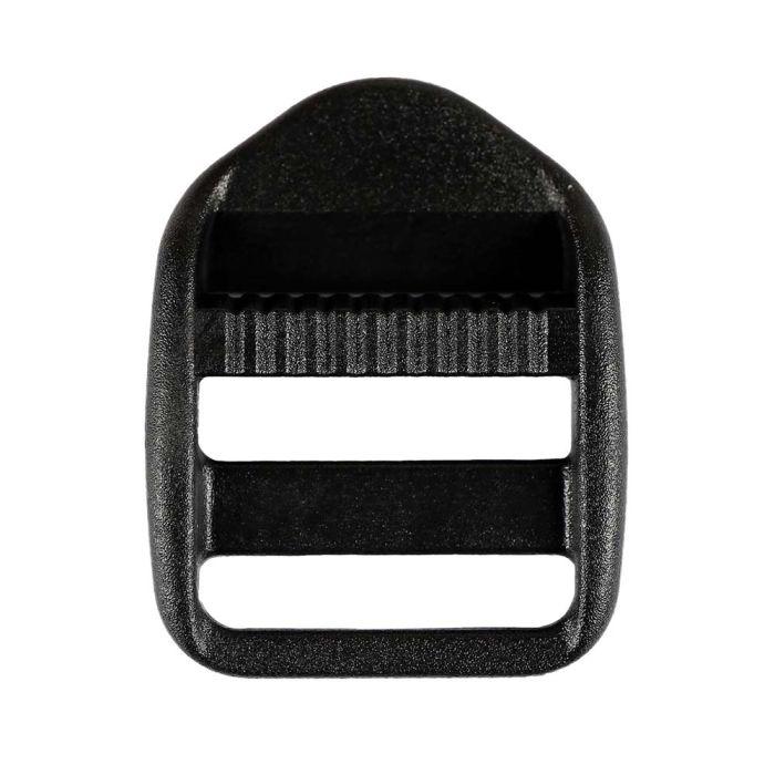 1 Inch Plastic Strap Adjuster Black
