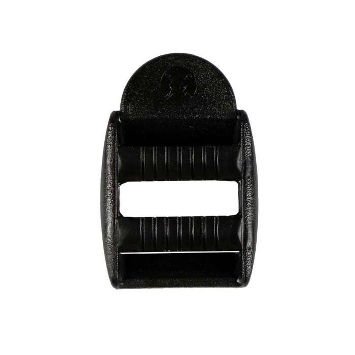 3/4 Inch Plastic Strap Adjuster Double Adjust Black