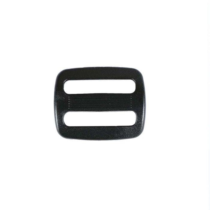 1 Inch Plastic Slide Black
