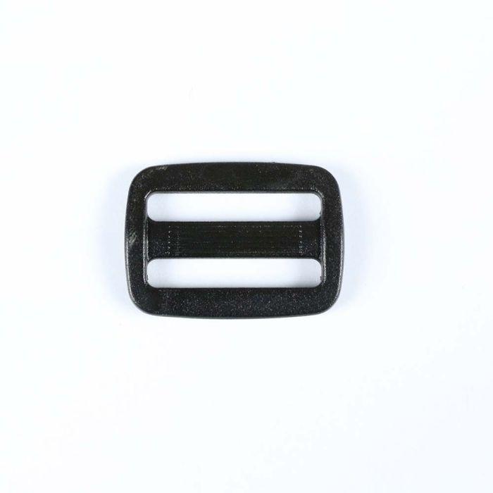 1 Inch Plastic Slide Thin Bar Black