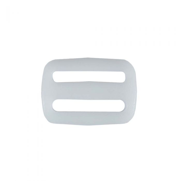 1 Inch Plastic Slide White