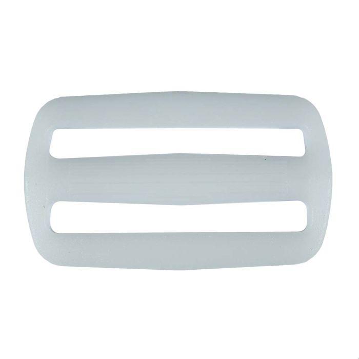 2 Inch Plastic Slide White