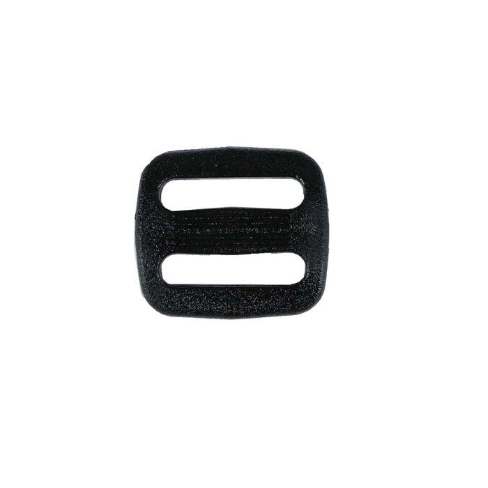 3/4 Inch Plastic Slide Black