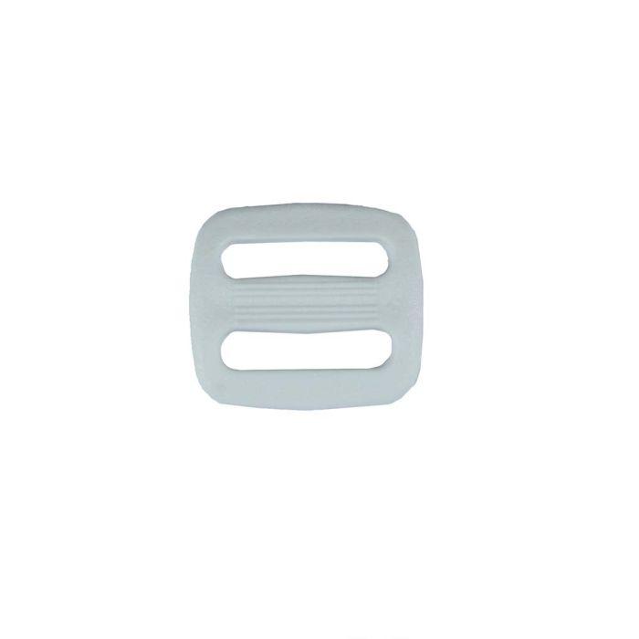 3/4 Inch Plastic Slide White