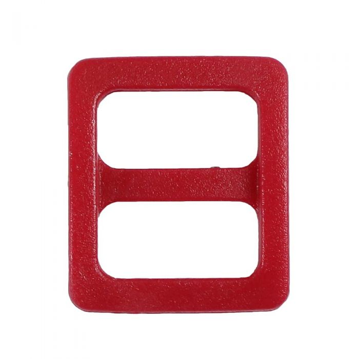 3/8 Inch Plastic Slide Red