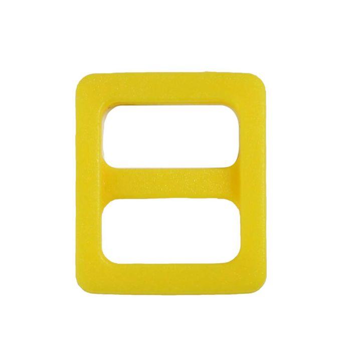 3/8 Inch Plastic Slide Yellow