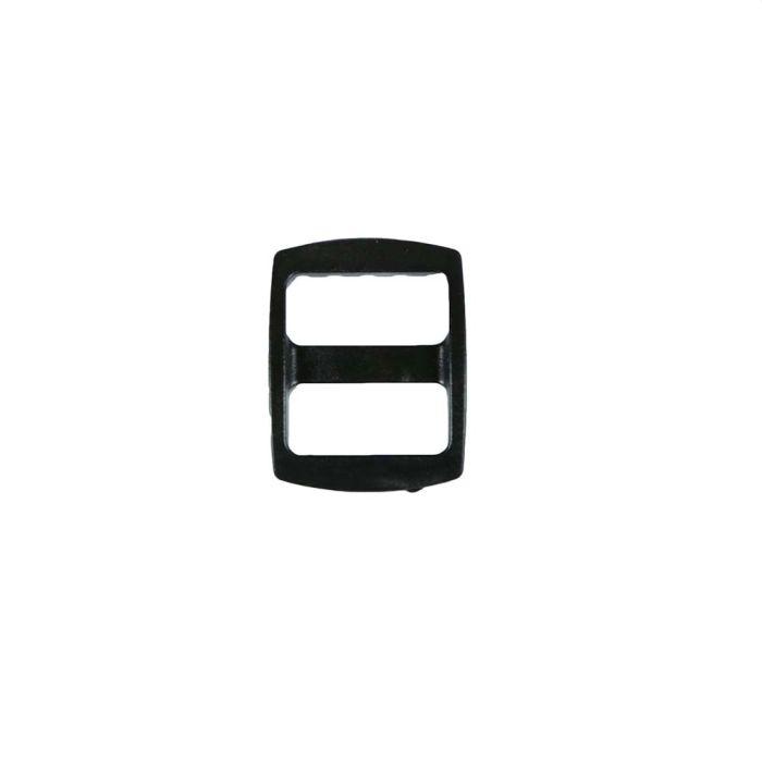 5/8 Inch Plastic Slide Black