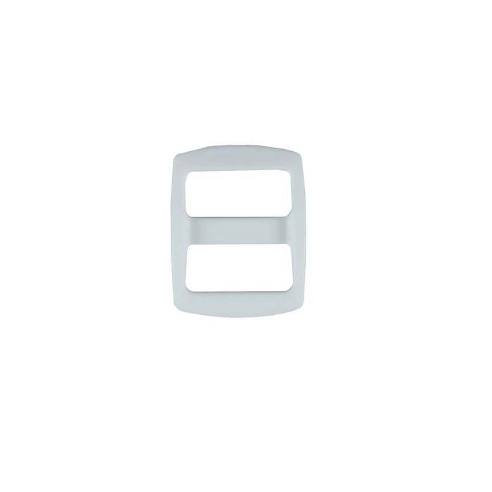 5/8 Inch Plastic Slide White