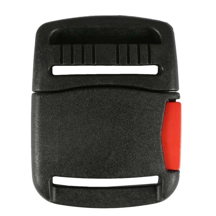 1 1/2 Inch Plastic Heavy Duty Side Release Buckle Black