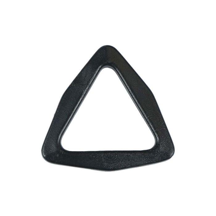1 Inch Plastic Tri-Loop Black