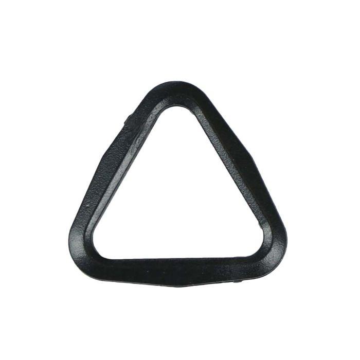 3/4 Inch Plastic Tri-Loop Black