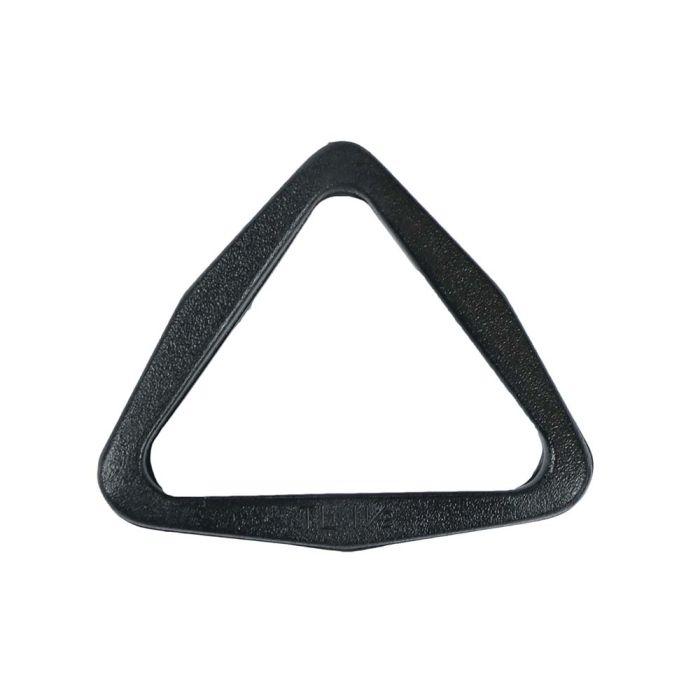 1 1/2 Inch Plastic Tri-Loop Black