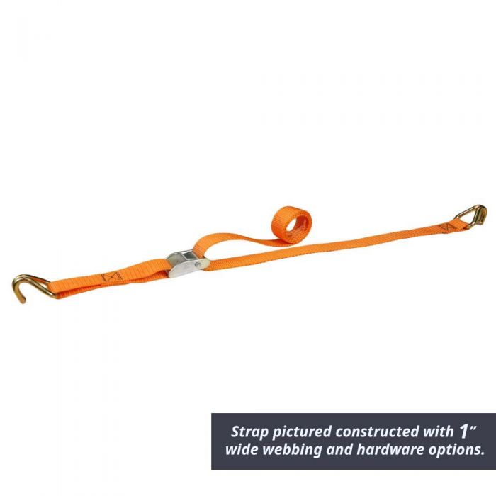 1 1/2 Inch Cam Strap with End Hardware
