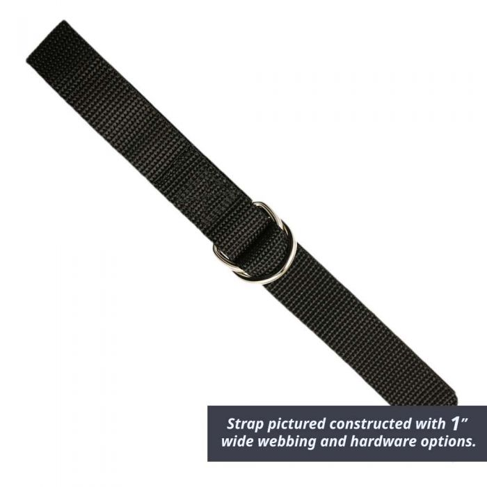 2 Inch Double D-Ring Strap