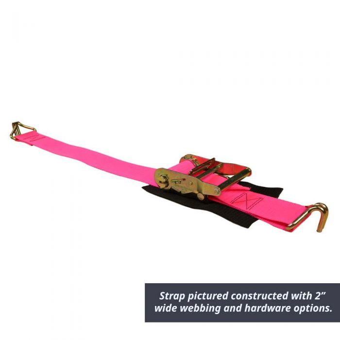 1 Inch Ratchet Strap with End Hardware