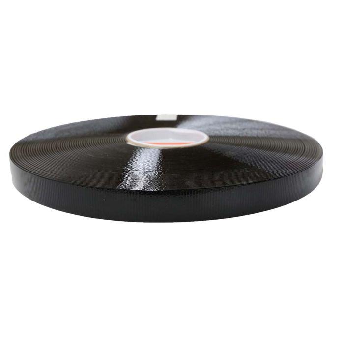 1 Inch Biothane High Flex Black Opaque