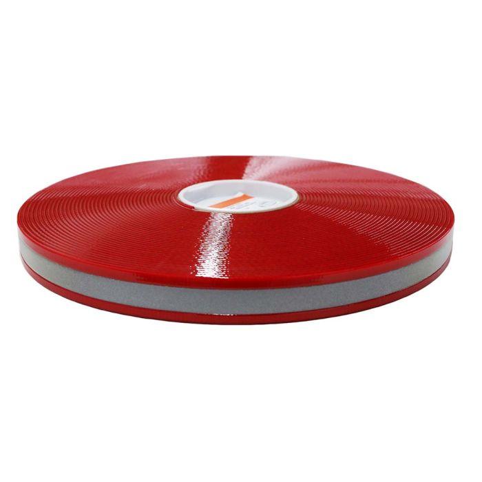 1 Inch Biothane Light Red Reflective