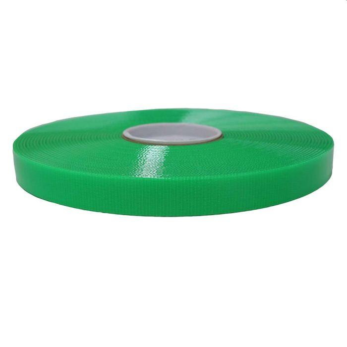 1 Inch Biothane Hot Green Translucent