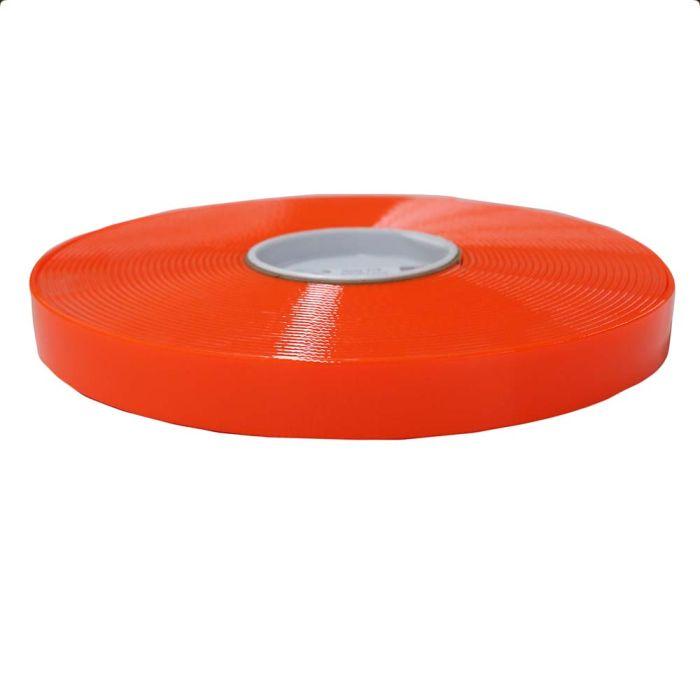 1 Inch Biothane Hot Orange Translucent