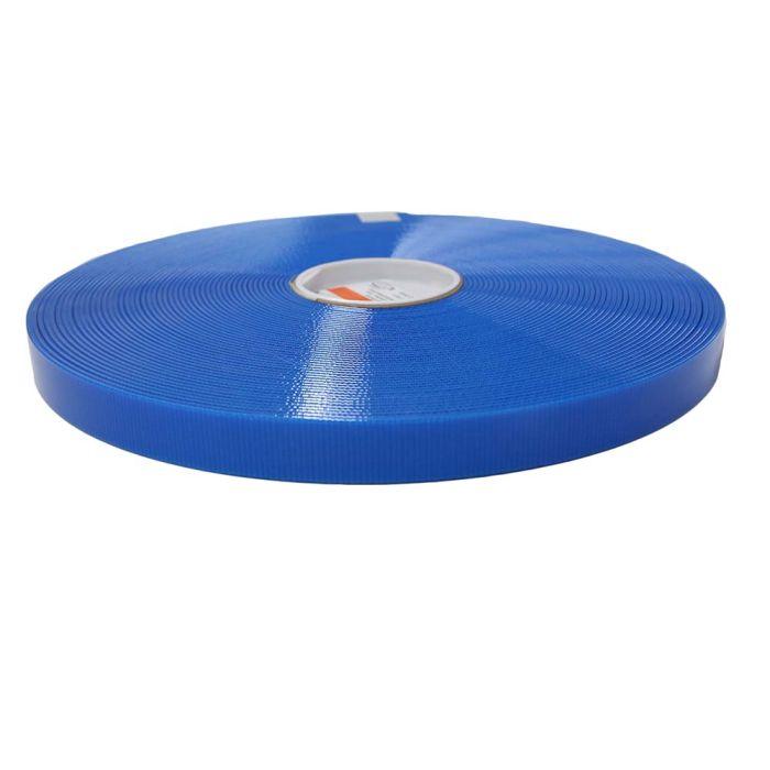 1 Inch Biothane Pacific Blue Translucent
