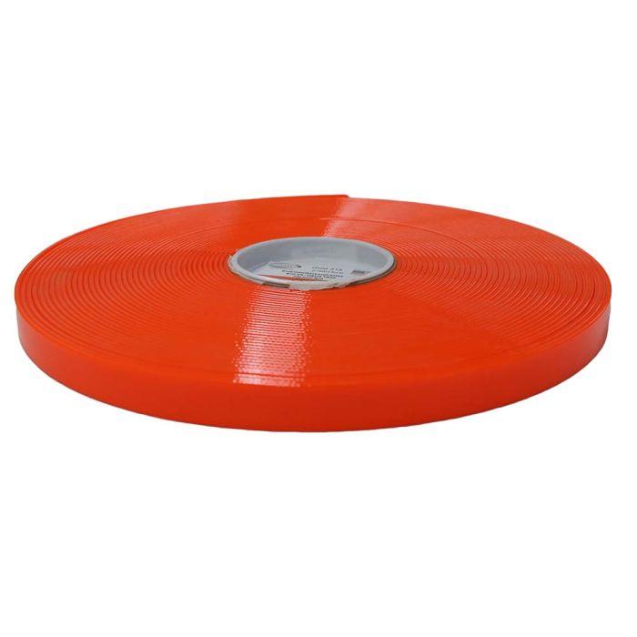 3/4 Inch Biothane Hot Orange Translucent