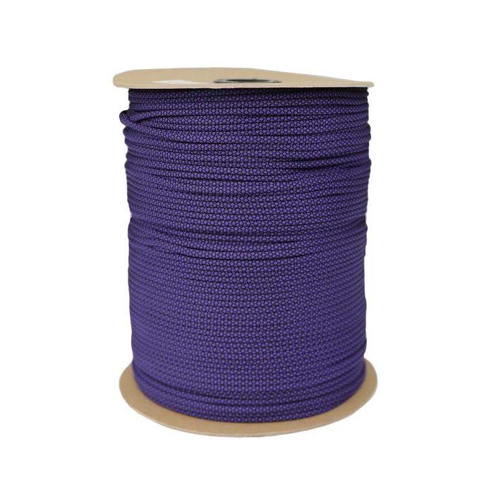 1/8 Inch Parachute Cord - Acid Purple with Diamonds