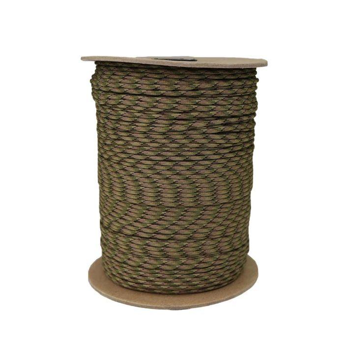 1/8 Inch Parachute Cord - Multi Camo