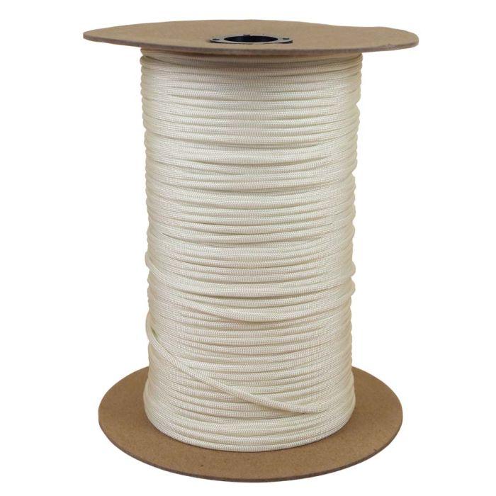 1/8 Inch Parachute Cord - White