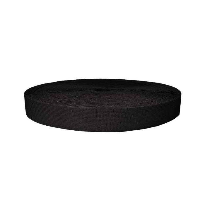 1 Inch Sublimated Elastic Black