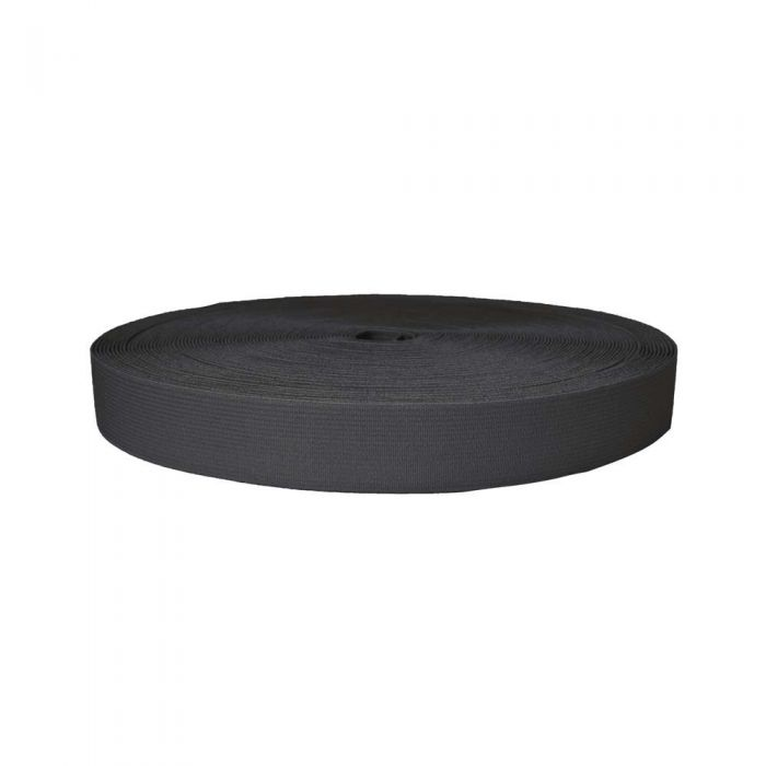 1 Inch Sublimated Elastic Charcoal