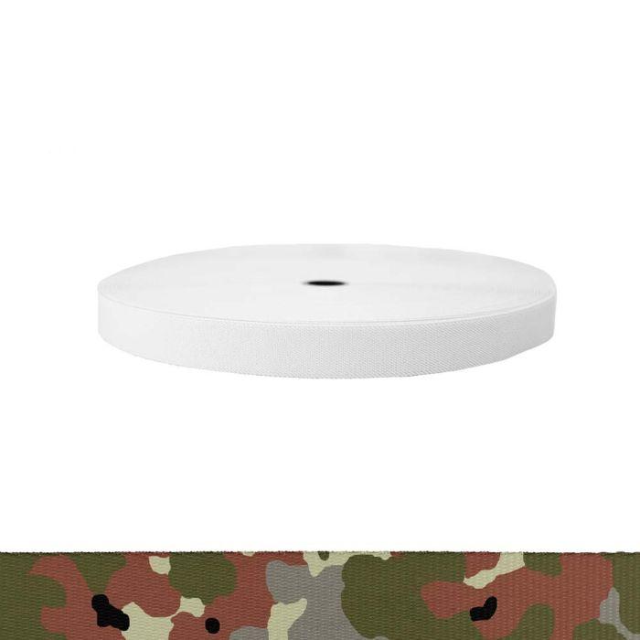 1 Inch Sublimated Elastic Camouflage Flecktarn