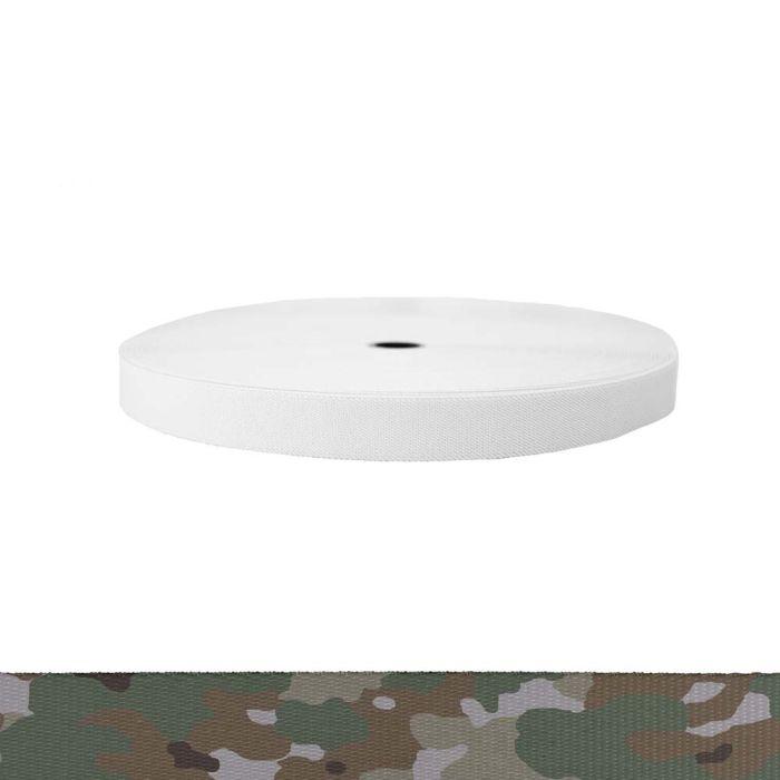 1 Inch Sublimated Elastic Camouflage Quadra