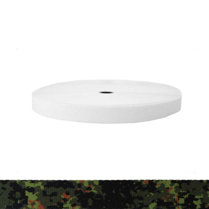 1 Inch Sublimated Elastic Camouflage Digital Jungle
