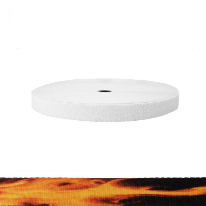 1 Inch Sublimated Elastic Fire