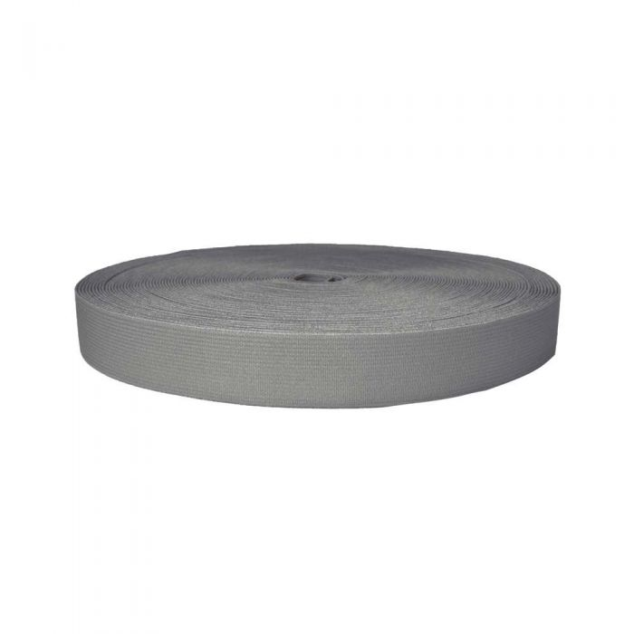 1 Inch Sublimated Elastic Gray