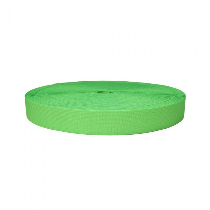 1 Inch Sublimated Elastic Lime Green