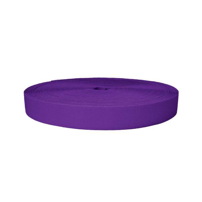 1 Inch Sublimated Elastic Purple