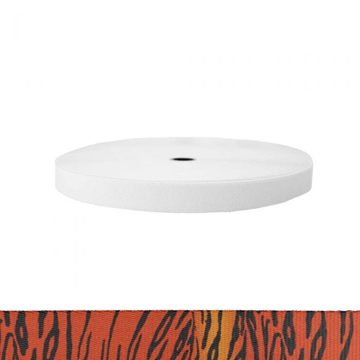 1 Inch Sublimated Elastic Tiger