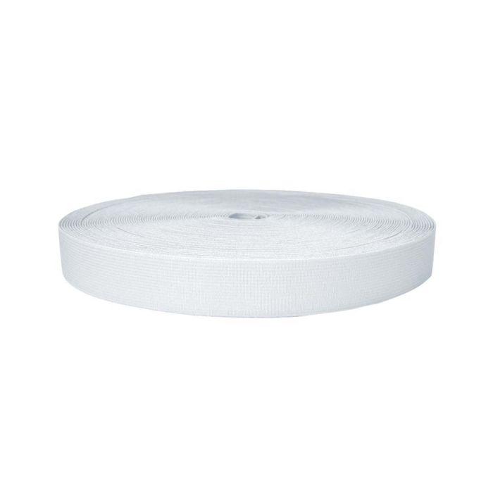 1 Inch Sublimated Elastic White