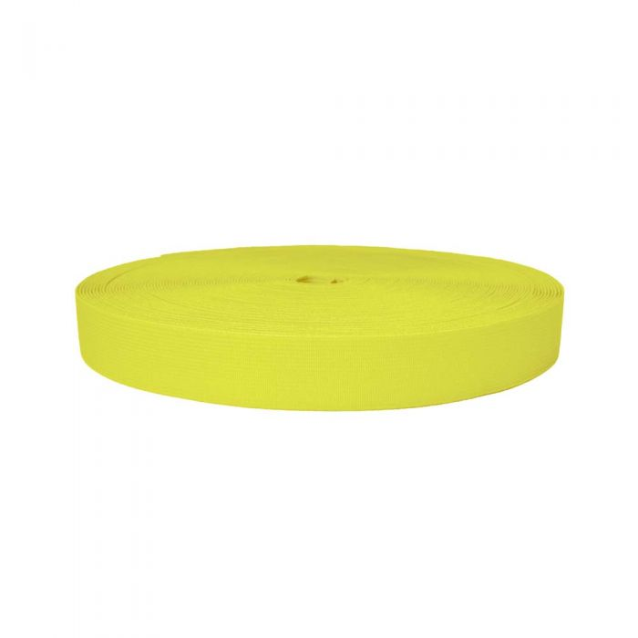 1 Inch Sublimated Elastic Yellow