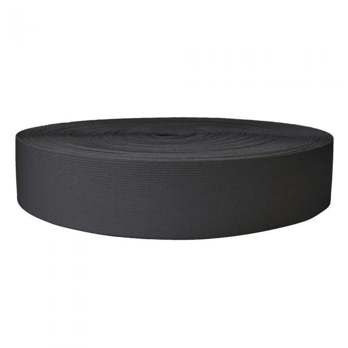 2 Inch Sublimated Elastic Charcoal