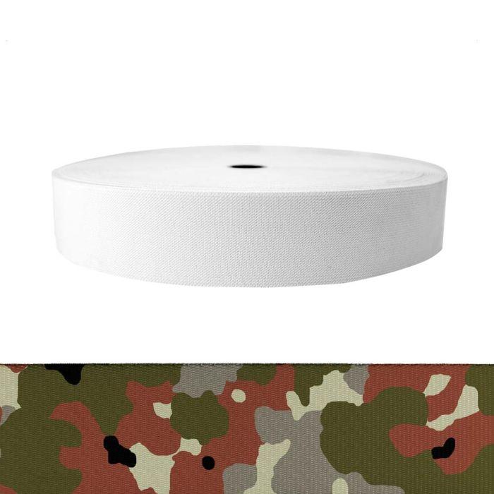 2 Inch Sublimated Elastic Camouflage Flecktarn