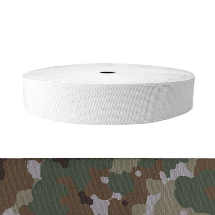 2 Inch Sublimated Elastic Camouflage Quadra