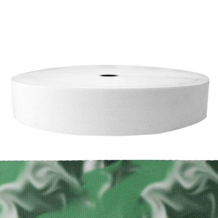2 Inch Sublimated Elastic Green Smoke