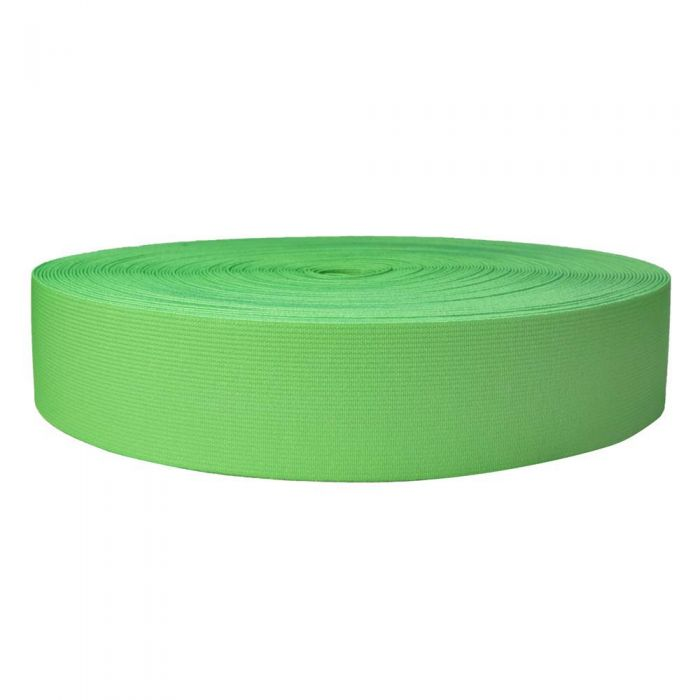 2 Inch Sublimated Elastic Lime Green