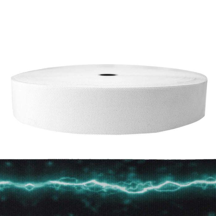 2 Inch Sublimated Elastic Lightning Splatter
