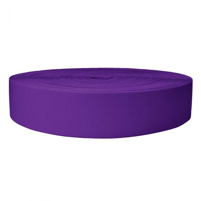 2 Inch Sublimated Elastic Purple