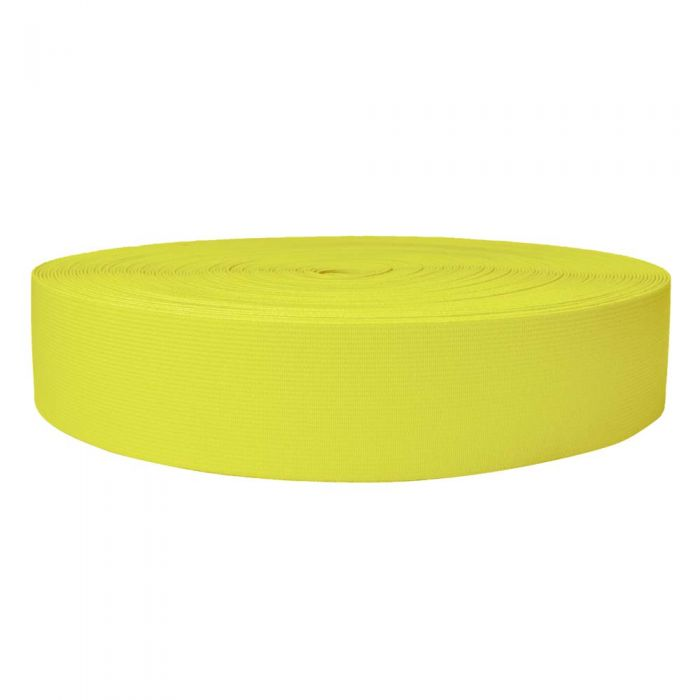 2 Inch Sublimated Elastic Yellow