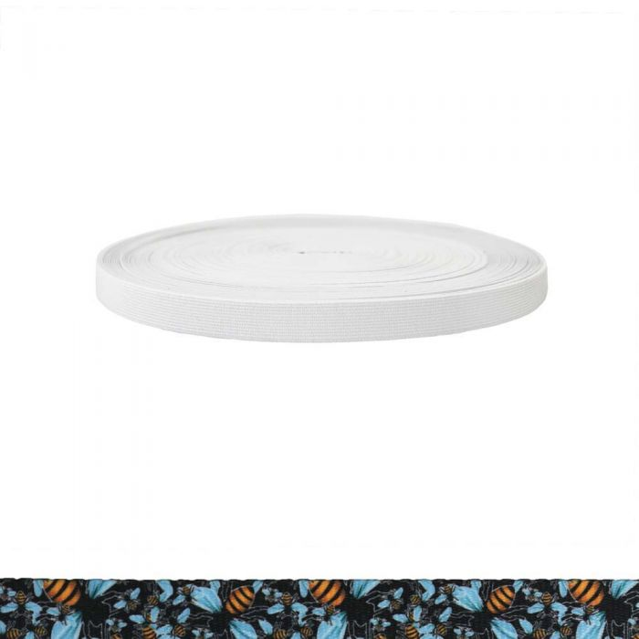 3/4 Inch Sublimated Elastic Bees